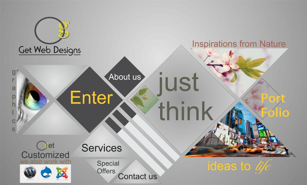 Get Web Designs Website desiging graphics Desiging website